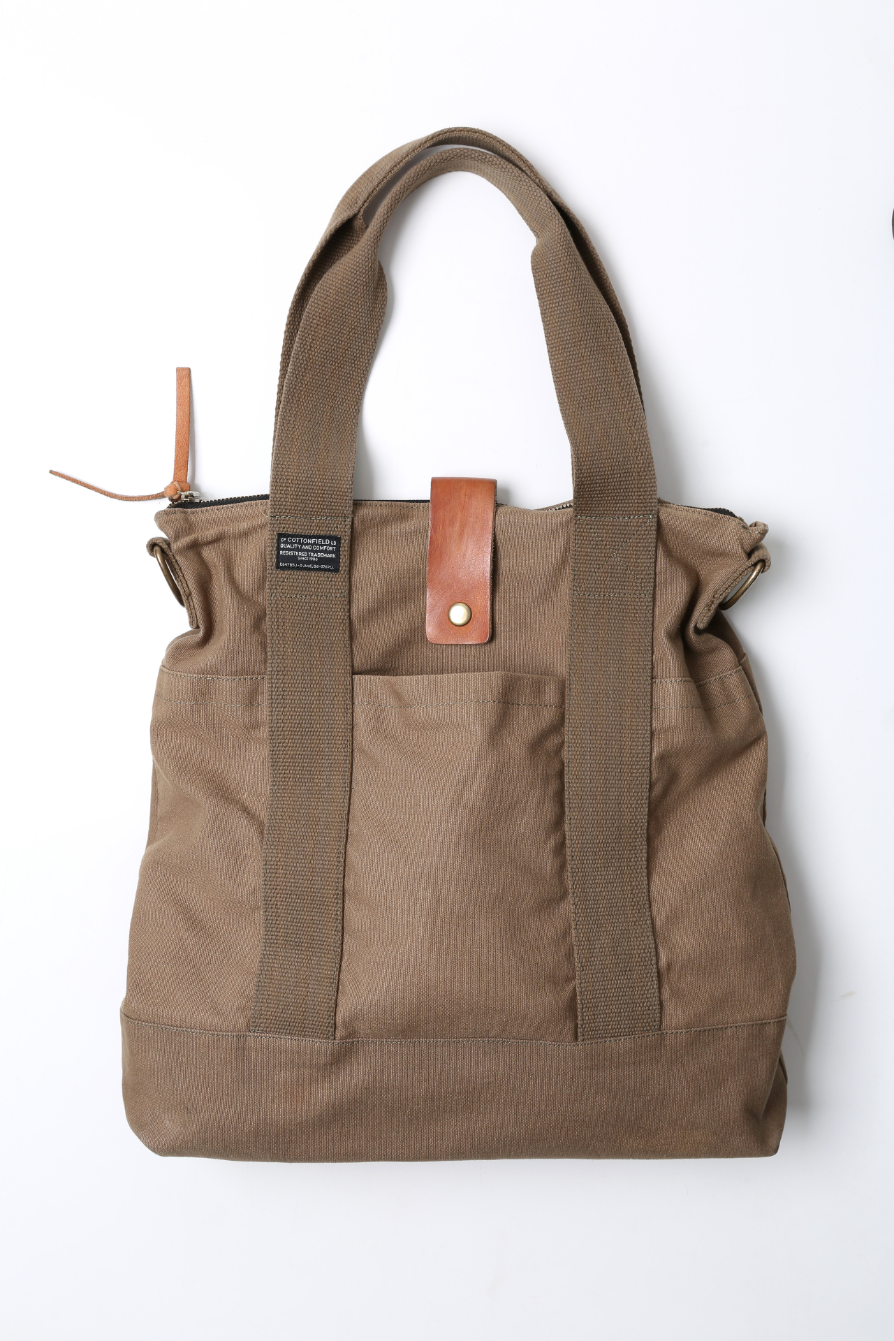 Ietilpīga brezenta auduma soma  Man ļoti patīk lielas somas, tāpēc šī šķita īsts atradums! Ir pieliekama arī garā plecu lence.  6 eiro, Humana.