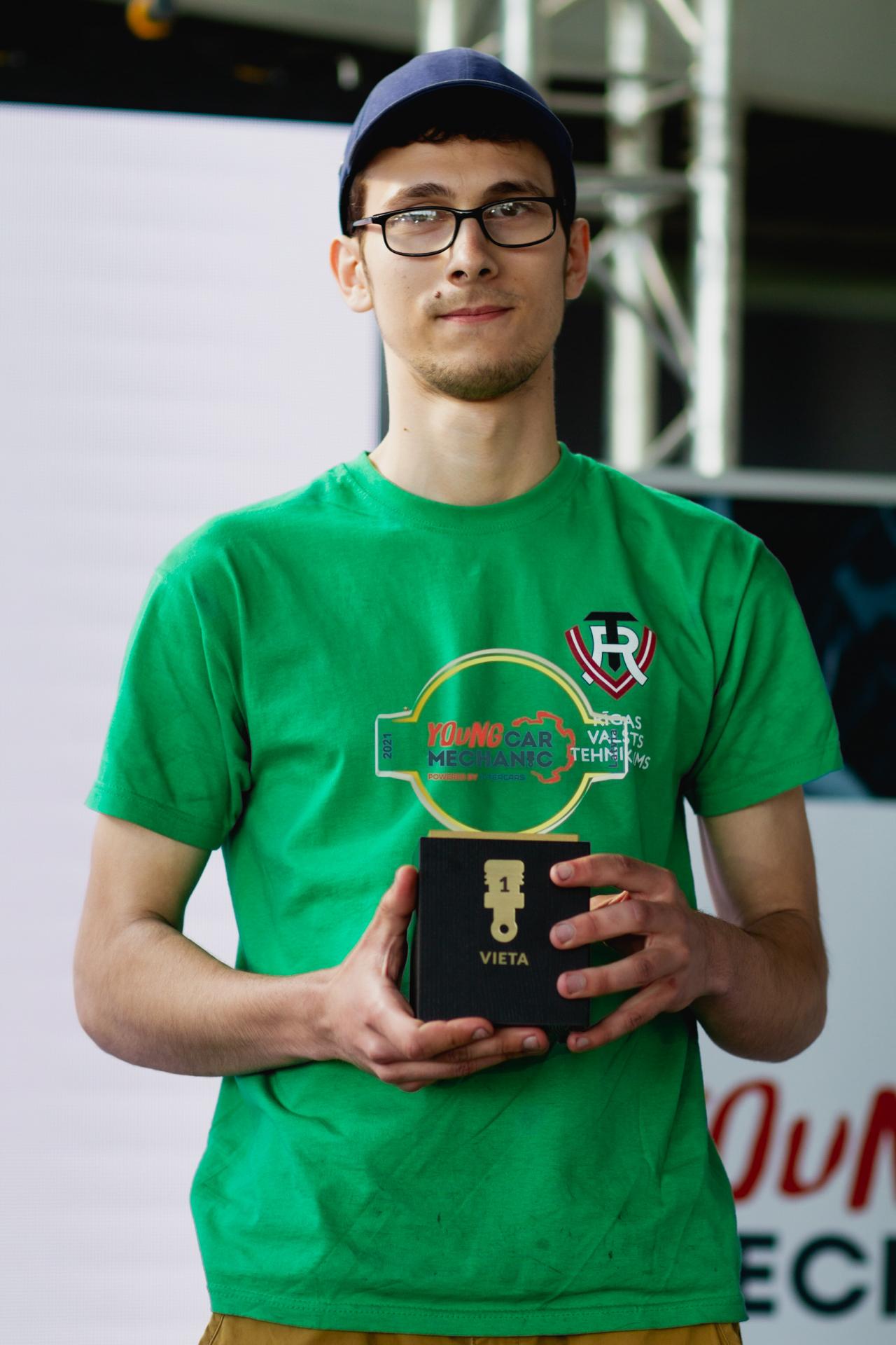 Konkursa uzvarētājs - Mārcis Bimšteins