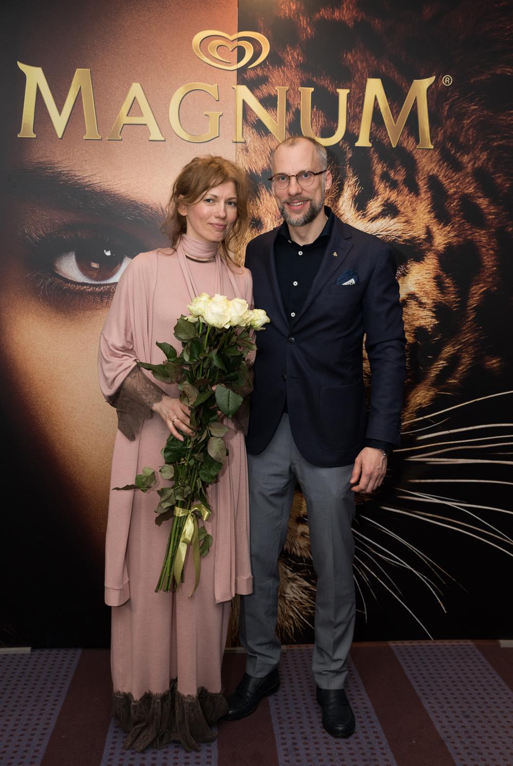 """Inese un Gundars pirms diviem gadiem """"Rīga Fashion Week"""". Šobrīd šķiroties, abi cenšas saglabāt cieņpilnas attiecības"""