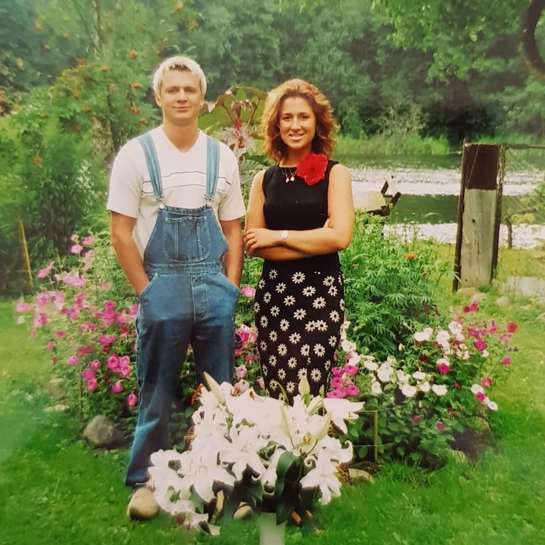 Armands un Iveta agrā jaunībā. Foto no personiskā arhīva