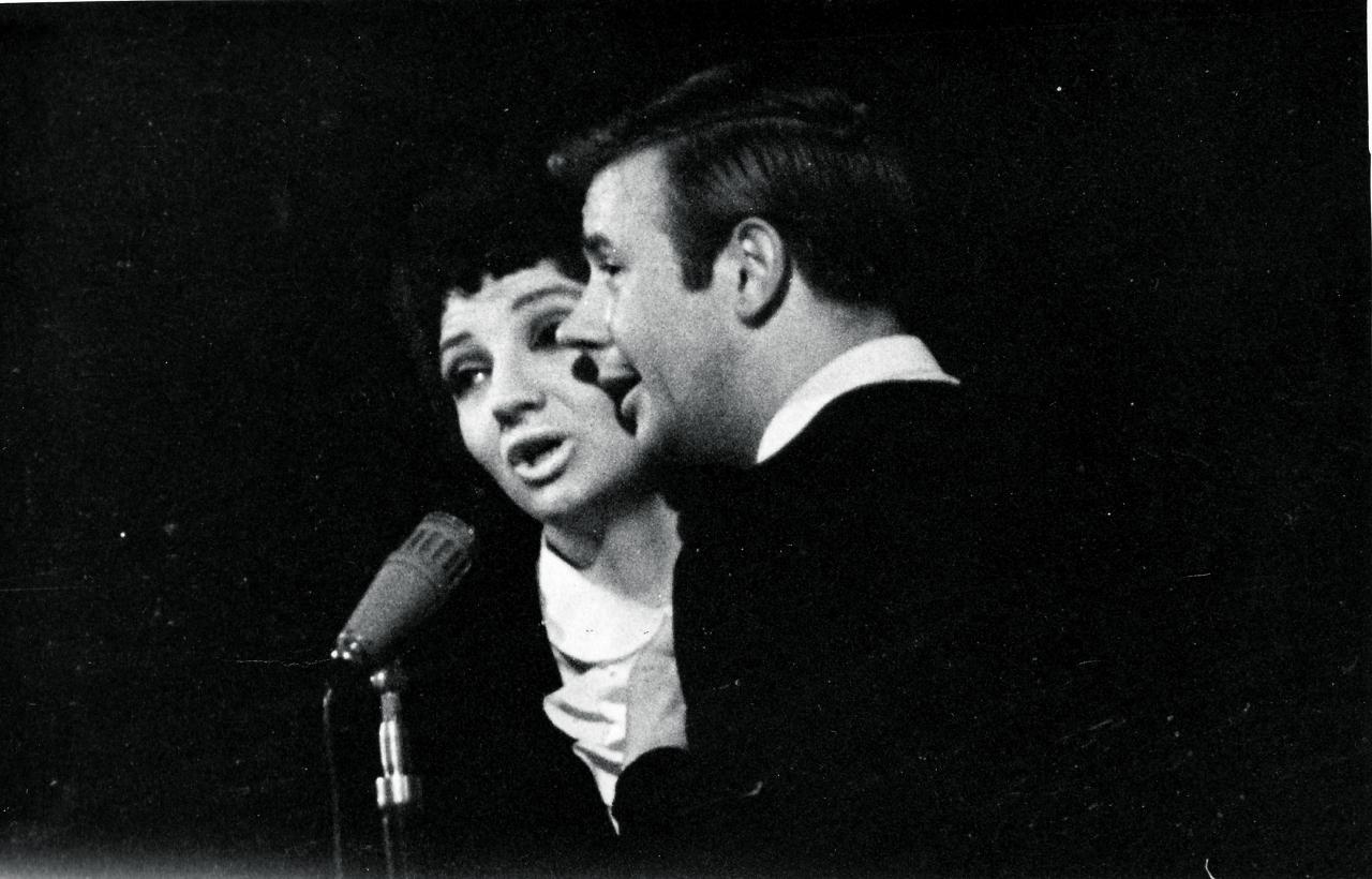 Margarita Vilcāne un Ojārs Grīnbergs pagājušā gadsimta 70. gadu beigās.