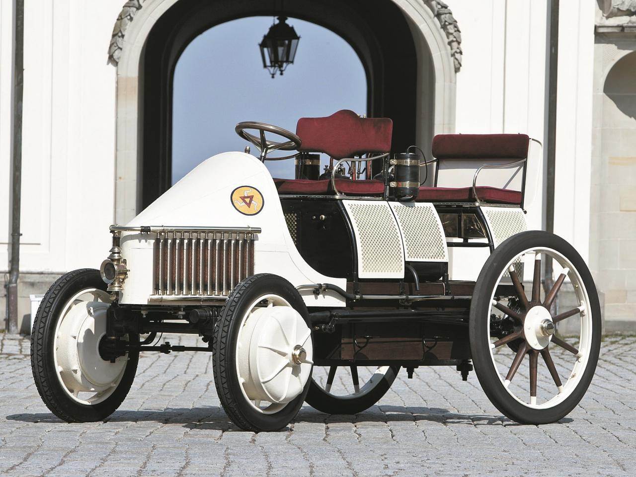 ohner-Porsche Semper Vivus –1901. gadā viens no pirmajiem hibrīdauto pasaulē