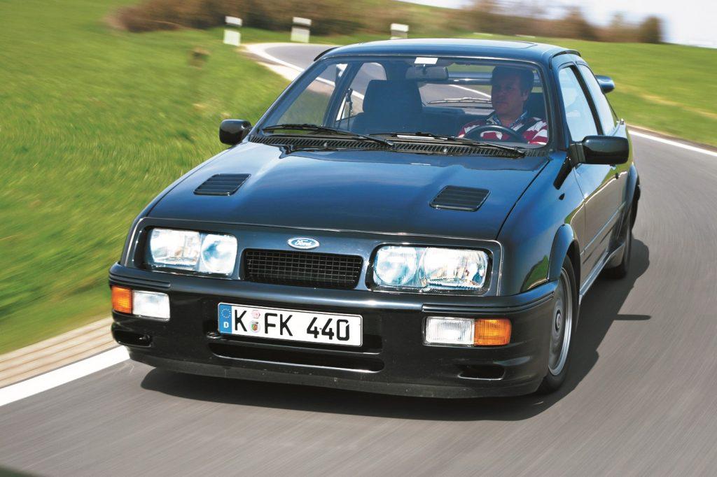 Sierra Cosworth visā savā godībā.