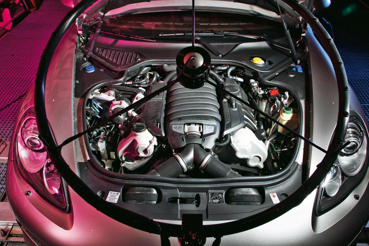 Panamera V8 skaņas uzņemšana: kas skan, kas traucē?