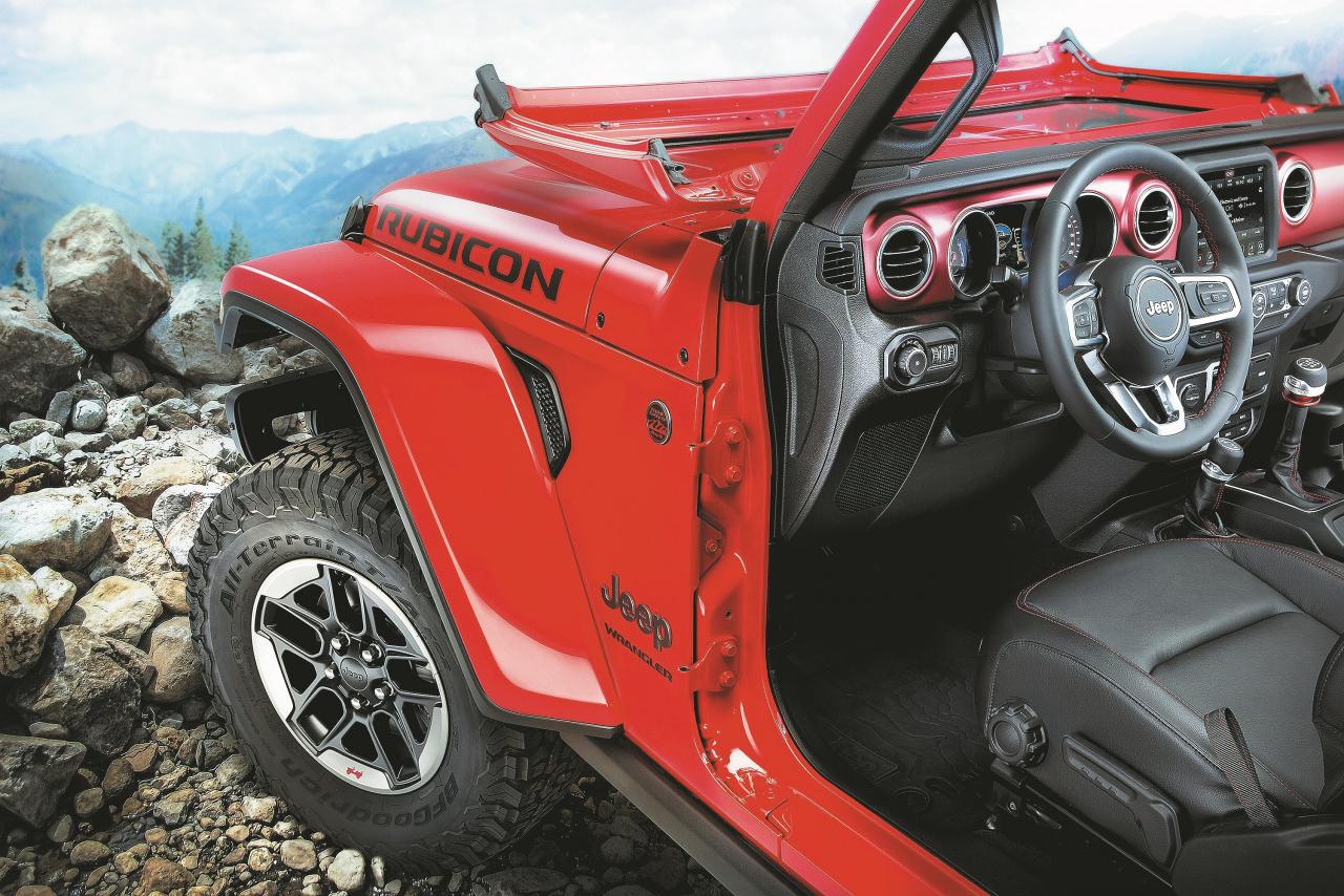 Tieši šādu amīši mīl savu Jeep: bez jumta, bez durvīm, bez logiem. Vējstikls, protams, ir nolokāms.