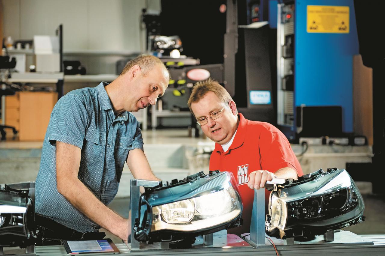 Vai pareizi noregulēts? Mēs testējām ar 3. sērijas BMW GT lukturiem.