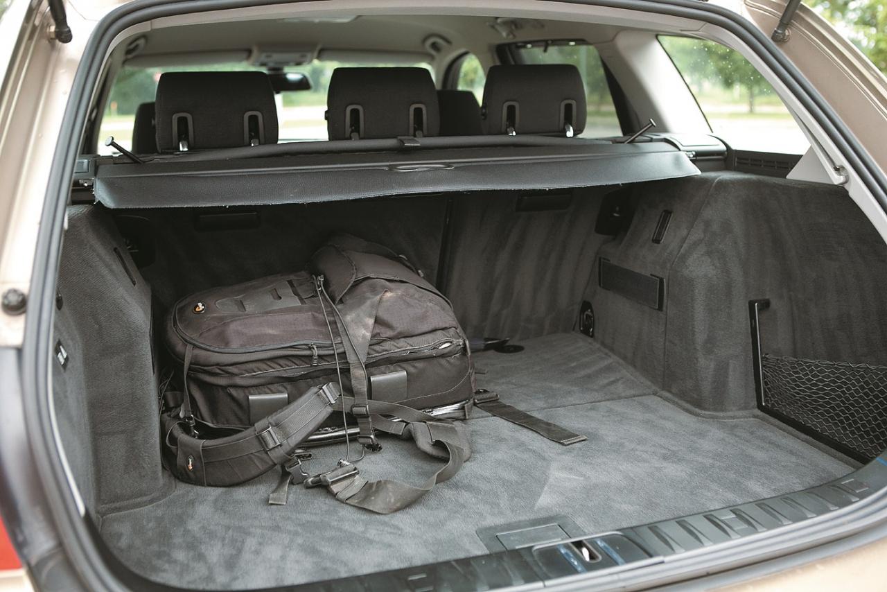 Bagāžas nodalījumu varētu vēlēties nedaudz lielāku