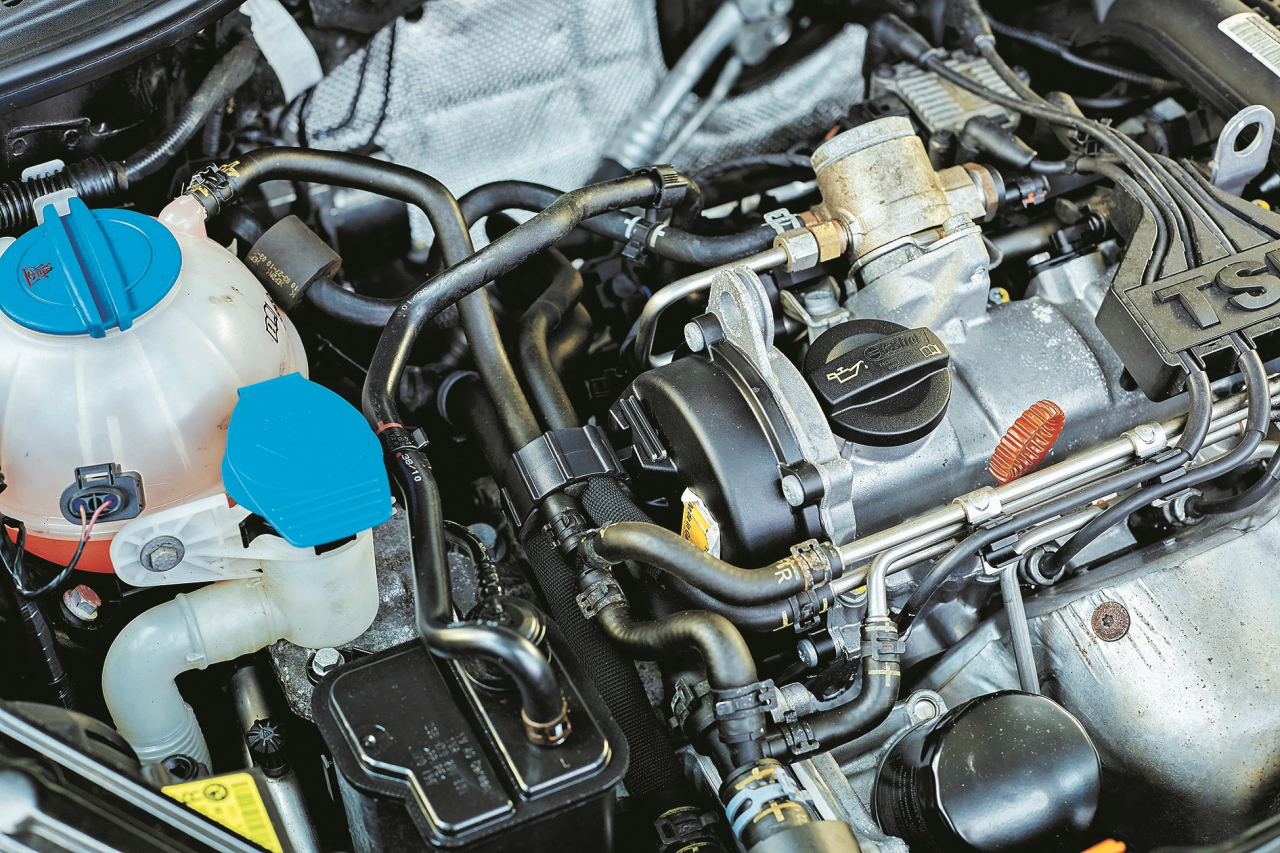Yeti vismazākais motors (1,2 TSI) darbojas stīvi, labāka izvēle būtu 2,0 TDI.