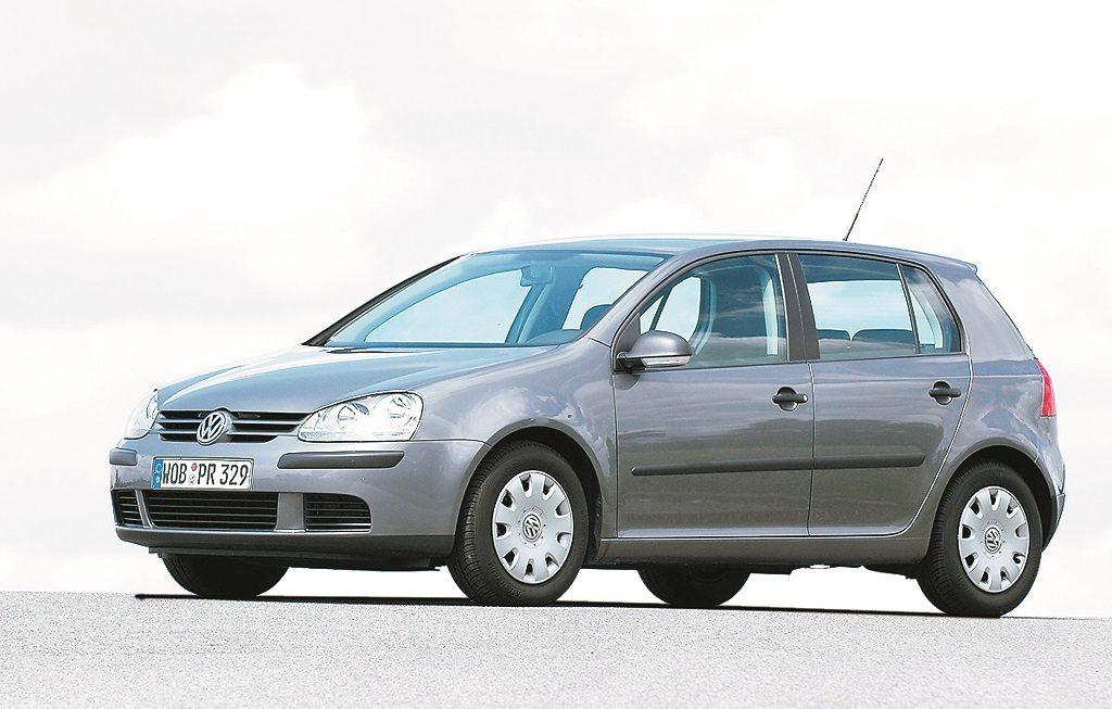 VW Golf V - patiesi oriģināls