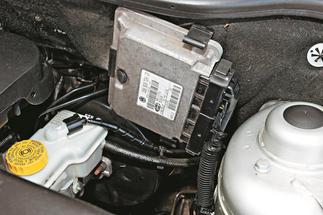 Motora vadības bloks uz vecumu var sākt streikot, tā nomaiņa maksās vairākus simtus eiro.