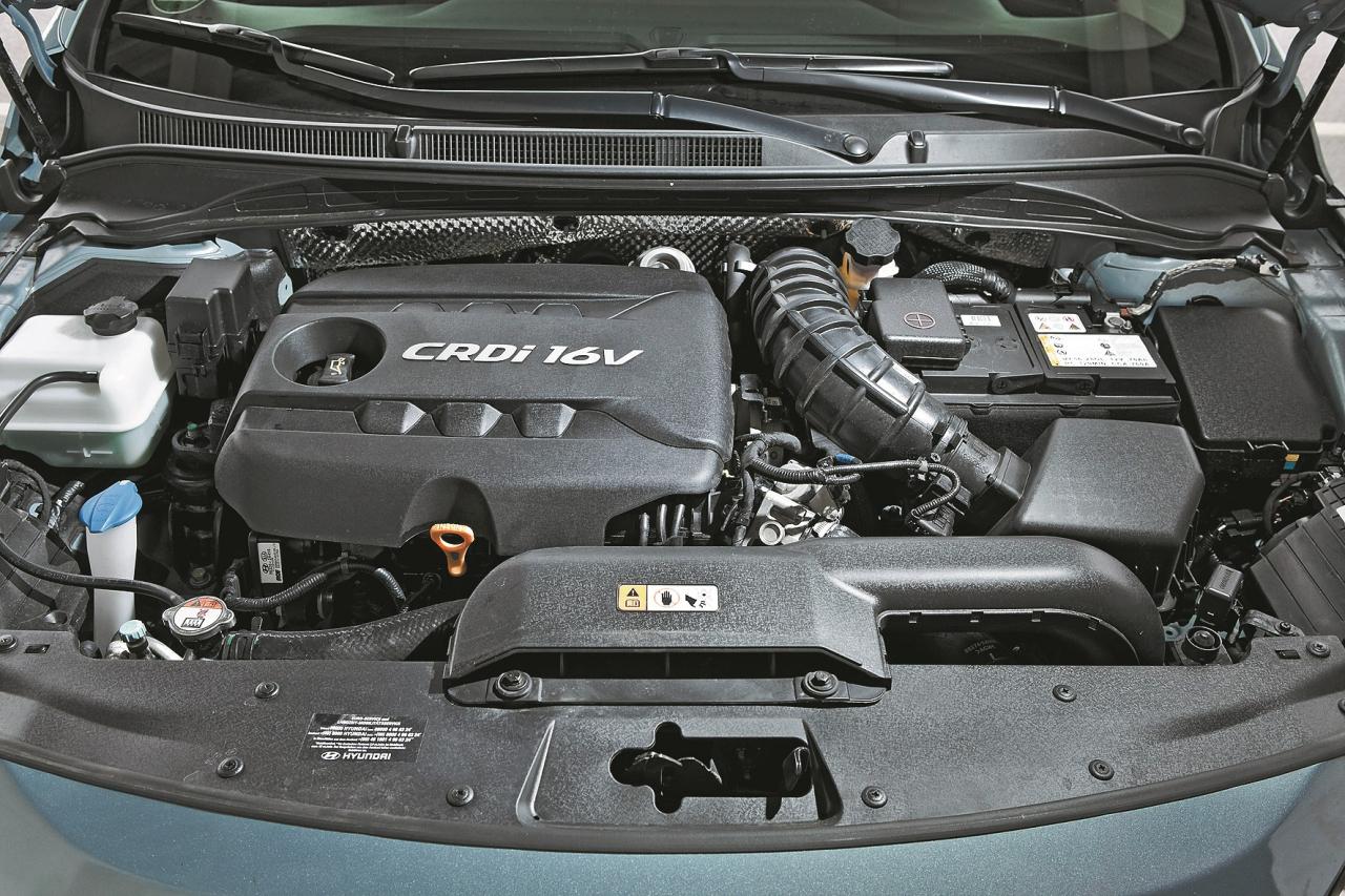Četrcilindru dīzeļdzinēju Hyundai radījuši Vācijā. Tam ir 136 ZS un 330 Nm.