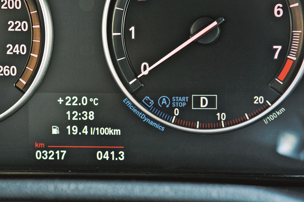 Start-Stop ietilpst BMW efektīvās dinamikas stratēģijā un ir standartaprīkojumā automašīnām ar automātisko pārnesumkārbu