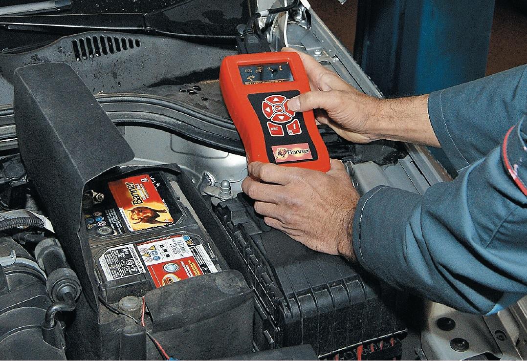 Inicializācija: ar skeneru servisā notiek pareiza akumulatora piereģistrēšana.