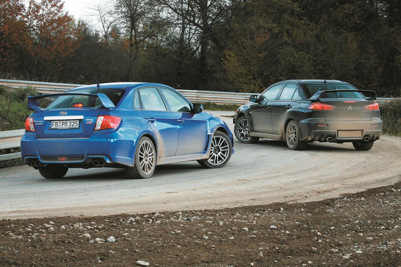 Daudzus gadus Subaru sīvā cīņā piekāpās savam sīvākajam pretiniekam Mitsubishi Evo. Jaunais modelis ar sedana virsbūvi WRX STi, pateicoties modernajai šasijai un spēcīgākajam uzrāvienam, beidzot var iegūt pirmo vietu