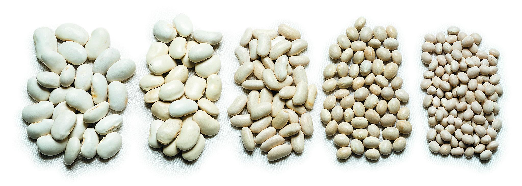 Arī baltās pupiņas ir vairāku veidu – atšķirīgas gan pēc formas, gan pēc garšas īpašībām.