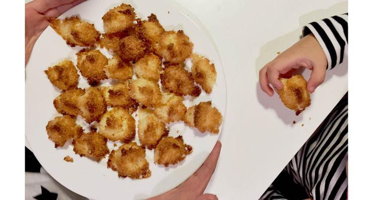 kokosriekstu kraukšķi cepumi bez lipekļa bez glutēna gluten free