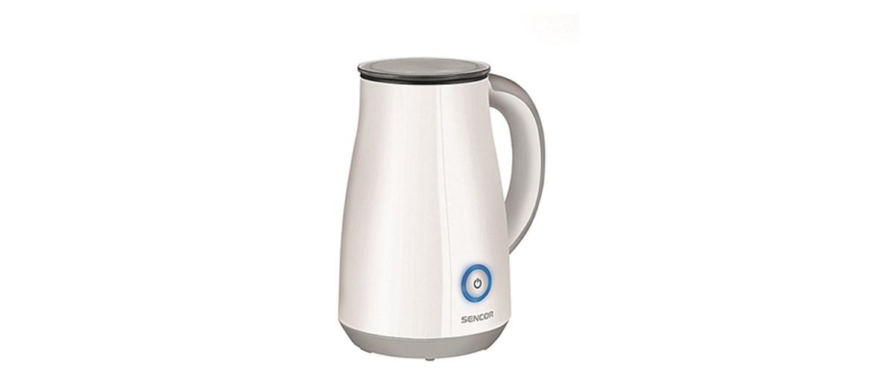 Piemērots, lai pagatavotudzērienus ar putotu vai karstu pienu. Trīs darbības režīmi. Piena tvertne: 100 un 200 ml. Aizsardzība pret piena pārkaršanu.