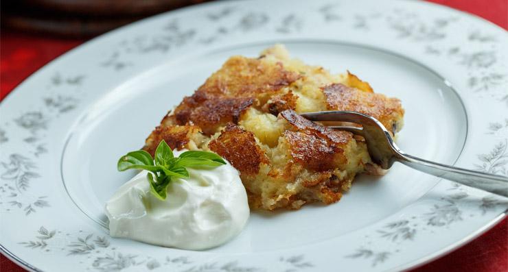 kugelis kartupeļu ēdiens lietuviešu