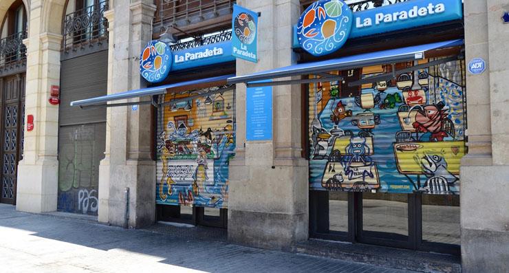 La Paradetta jūras veltes Spānija Barselona