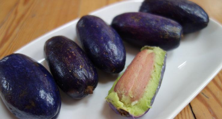 Safu eksotiskais auglis Āfrikā