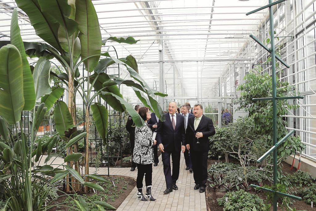 Lielais sapnis piepildījies! Nacionālā botāniskā dārza Oranžērijas atklāšana, 2015. gada aprīlis.