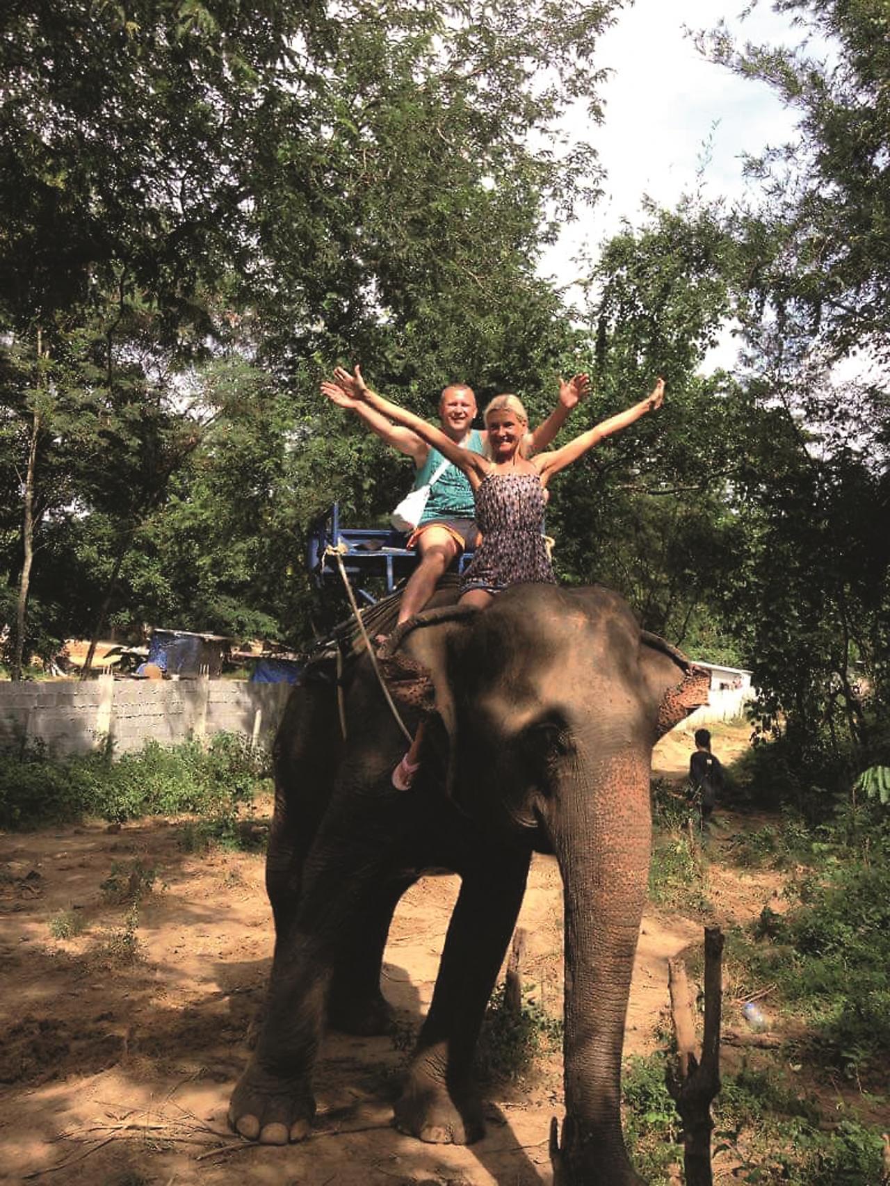 Ceļojums uz Taizemi kopā ar dzīvesbiedru Vadimu.