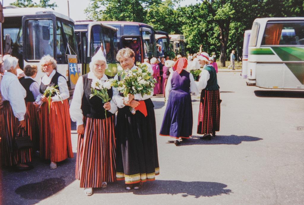 «Mēs ar draudzeni un citiem gulbeniešiem tūdaļ dosimies uz Dziesmusvētkiem Rīgā.»