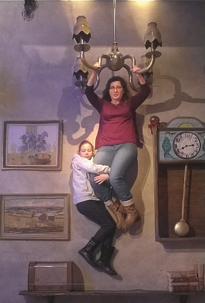 ILŪZIJA. Ziemassvētku brīvdienās ar meitu Lindgrēnes muzejā Stokholmā.