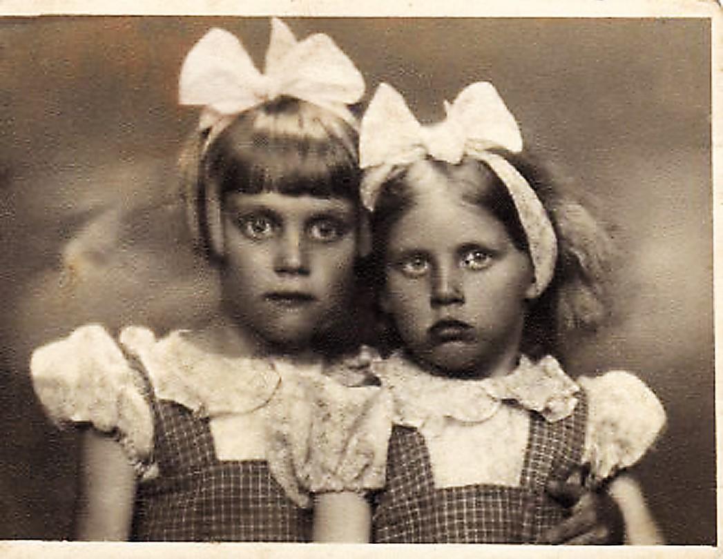 Vizma ar māsu Zentu jeb Bille un Anita