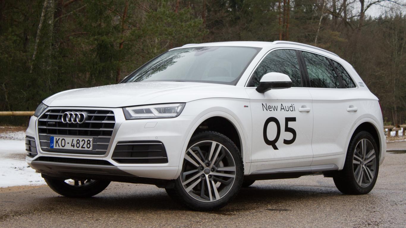 <strong><em>Audi Q5</em></strong> pirmais testa brauciens