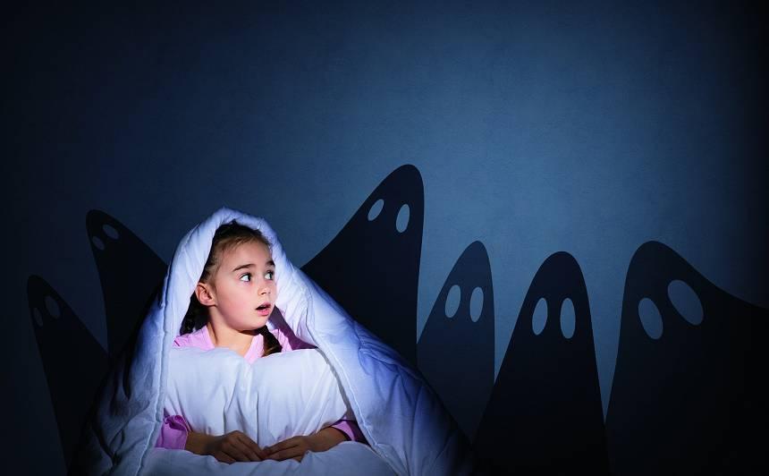 Kāpēc bērni <strong>baidās no tumsas?</strong>