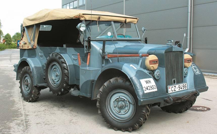 Motormuzeja retro auto – <em>Horch 901 Kfz.15</em> <strong>armijas leģenda</strong>
