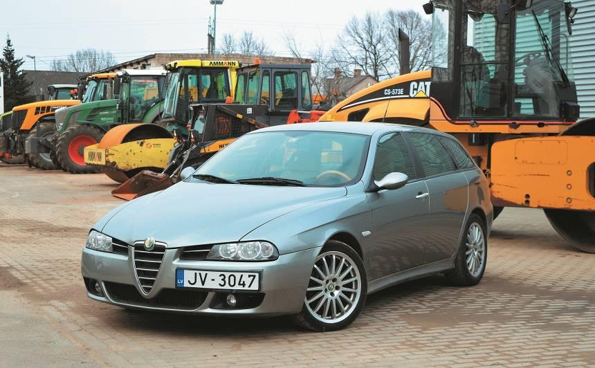 Lietots auto: <strong>Alfa Romeo 156 (96–07)</strong> – ekspertu atsauksmes