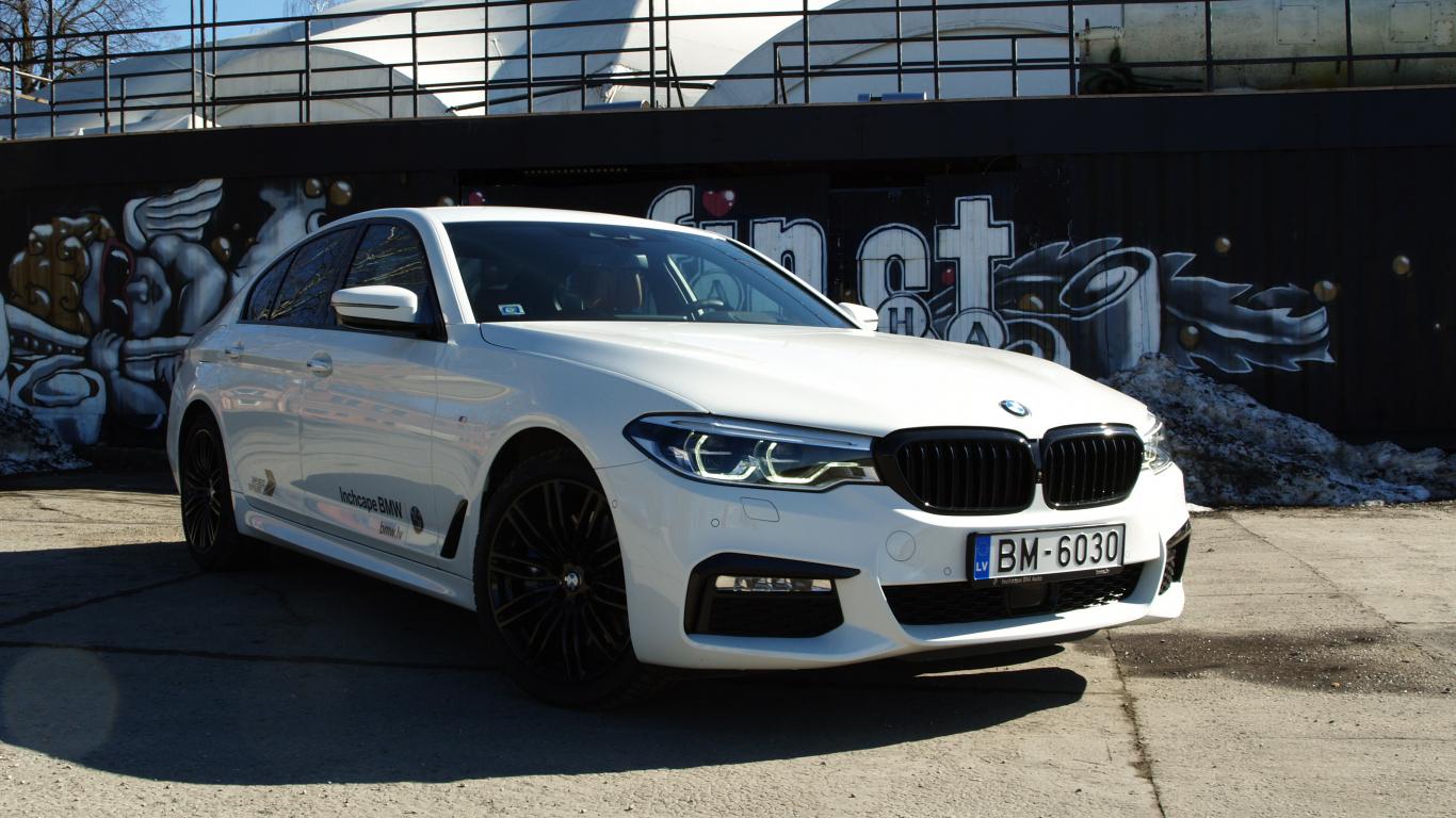 <strong>BMW 5.sērijas (G30)</strong> pirmais testa brauciens