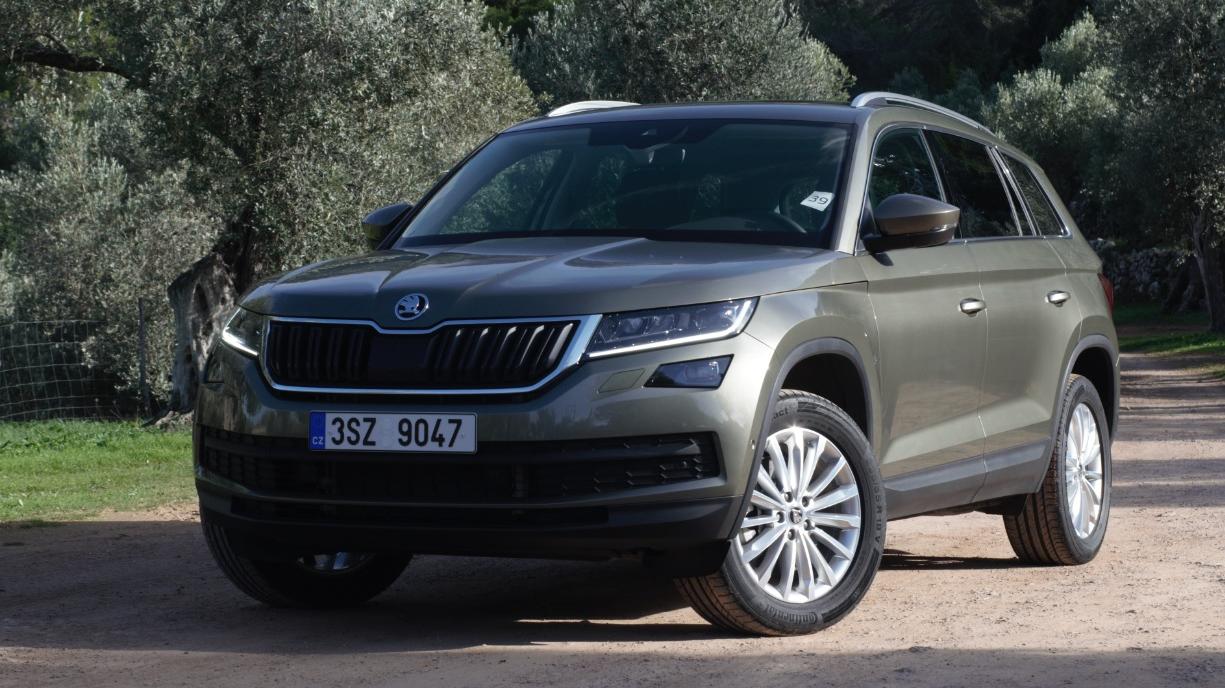 Testējam ārzemēs — <strong><em>Škoda Kodiaq</em></strong> pirmais testa brauciens