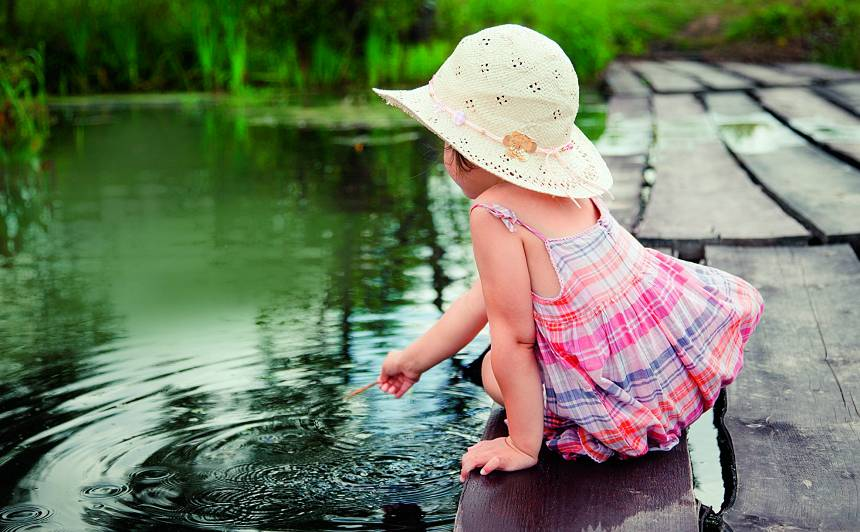 Svarīgākais par <strong>bērnu drošību pie ūdens</strong>