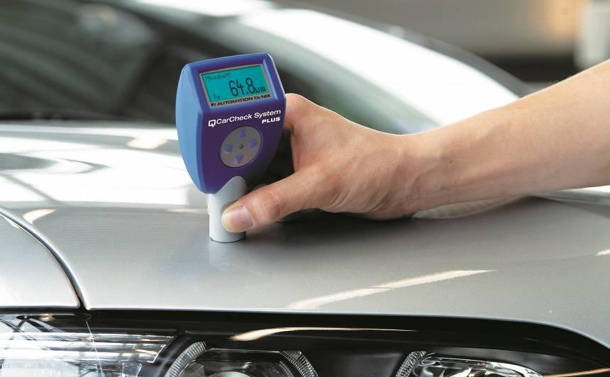 Vai <strong>lietotus auto</strong> jāpārbauda ar krāsas biezuma mērītāju?