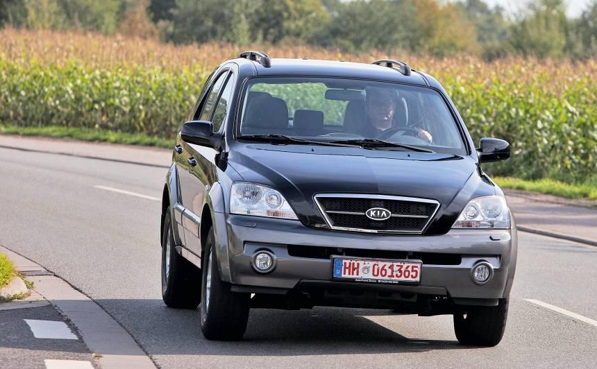 Lietots auto: <strong><em>Kia Sorento</em> (02–09)</strong> – ekspertu atsauksmes