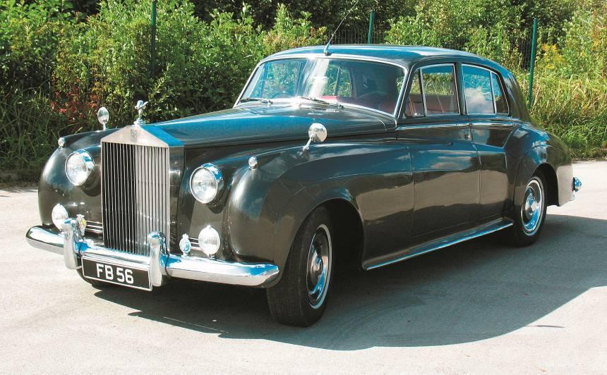 Motormuzeja retro auto - <strong>Rolls-Royce</strong> Silver Cloud II