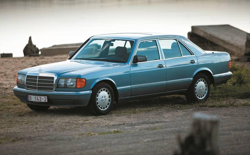 Lietots auto: <strong><em>Mercedes-Benz S-klase</em> (80–91)</strong> — ekspertu atsauksmes