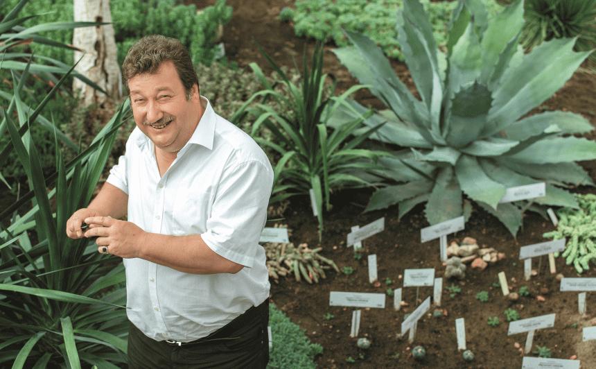 Botāniskā dārza direktors Andrejs Svilāns: <strong>Tromba dēļ gandrīz nokļuvu paradīzes dārzā!</strong>