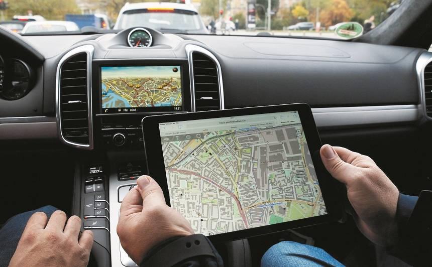Automašīnas navigācija - <strong>kā patiesībā</strong> darbojas GPS?