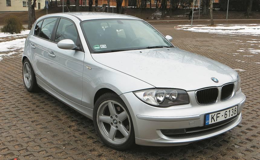 Lietots auto: <strong>BMW 1. sērija (04-11)</strong> - ekspertu atsauksmes