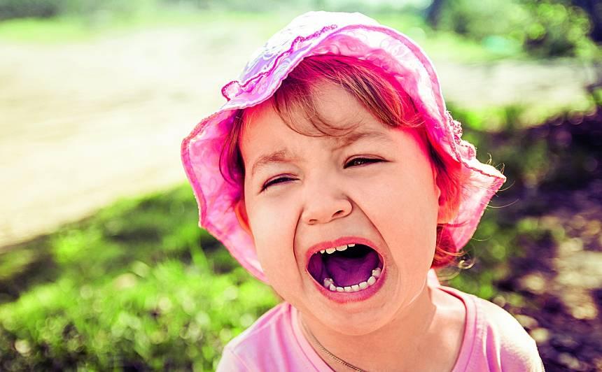 Decibelu karalis. Kāpēc bērni <strong>tik skaļi kliedz?</strong>