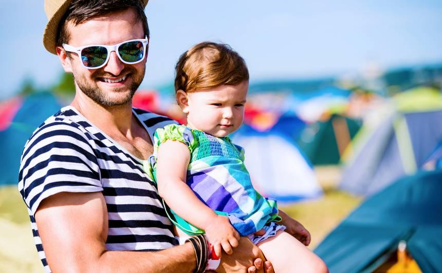 Uz festivālu kopā ar bērnu