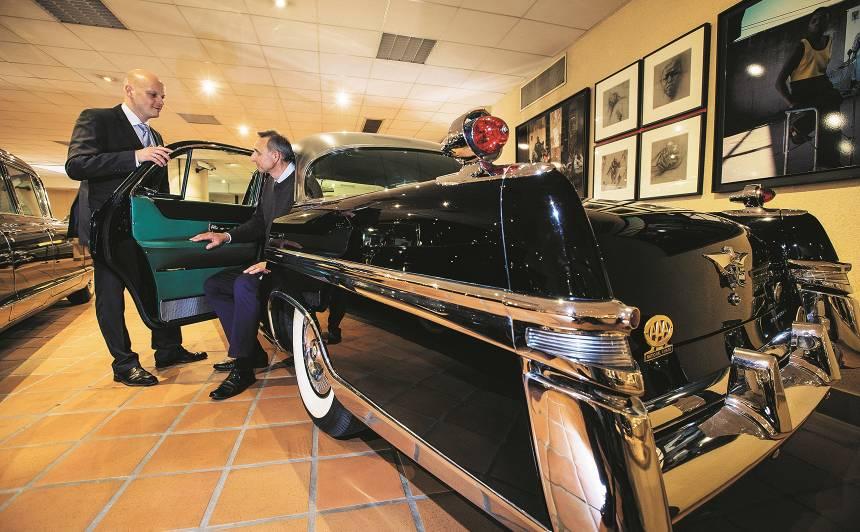 Monako pils noslēpumi - <strong>ekskluzīva auto kolekcija</strong> no firsta Alberta
