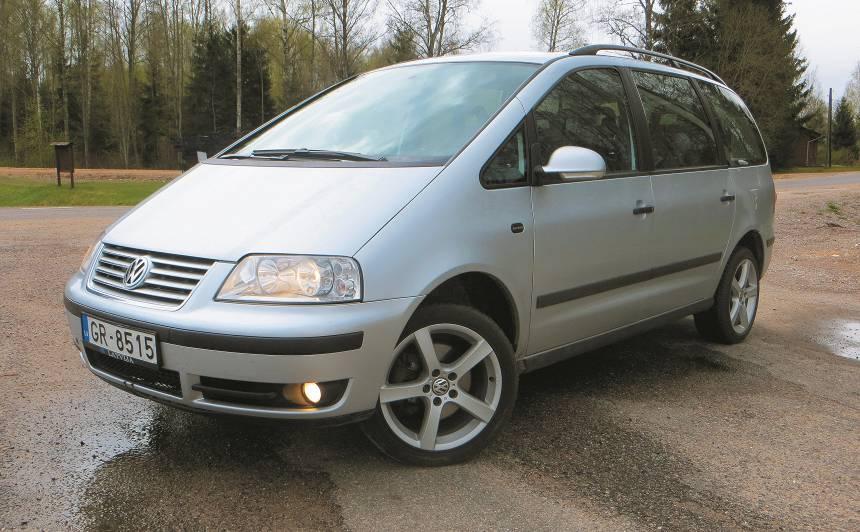 Lietots auto: <strong>Volkswagen Sharan (95–10)</strong> – ekspertu atsauksmes