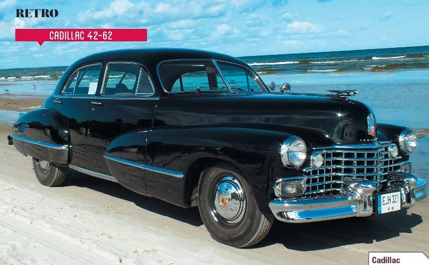 Motormuzeja retro auto — <em>Cadillac Series 42–62</em> <strong>civilais gangsters</strong>