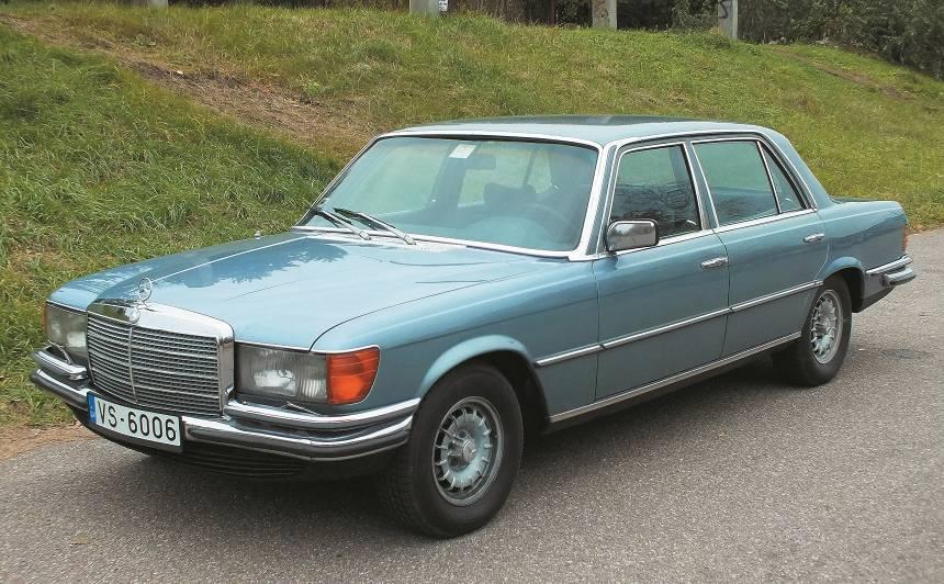 Motormuzeja retro auto — <em>Mercedes-Benz 450 SEL</em> (W116) <strong>S-klases pionieris</strong>