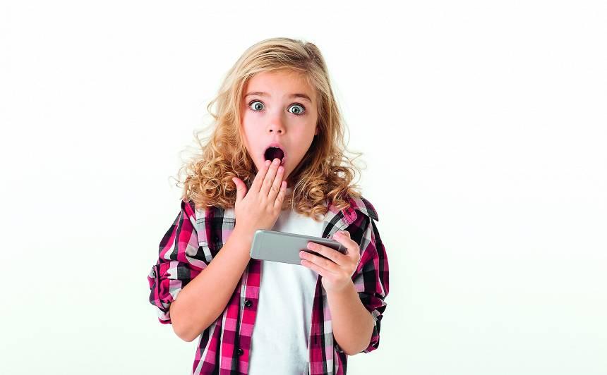 Kas bērnam jāzina par <strong>viedtālruņa lietošanu</strong>